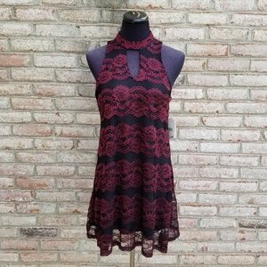 NWT Altar'd State Lace Mock Neck Dress